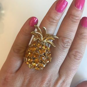 Kate Spade pineapple ring